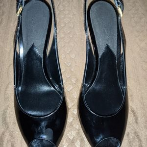 TOM FORD Patent Leather Slingback Sandals